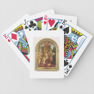 The Madonna and Child Enthroned Bicycle Playing Cards
