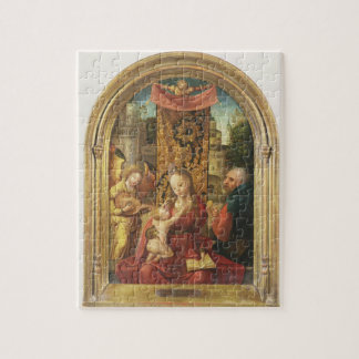 The Madonna and Child Enthroned Jigsaw Puzzle