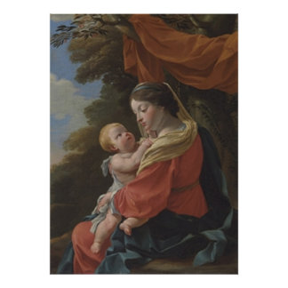 The Madonna and Child Print
