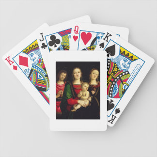 The Madonna and Child with St. John the Baptist an Bicycle Playing Cards