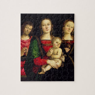 The Madonna and Child with St. John the Baptist an Jigsaw Puzzle