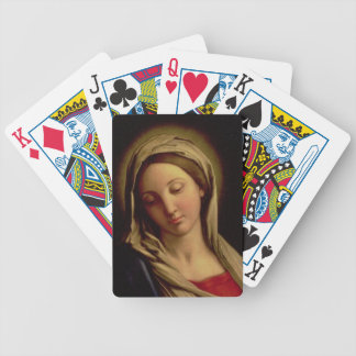 The Madonna Bicycle Playing Cards