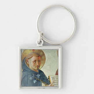 The Madonna delle Ombre, detail of St. Dominic Keychain