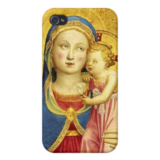 The Madonna of Humility iPhone 4/4s Case
