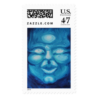 The Madonna of Phalanges Postage Stamp