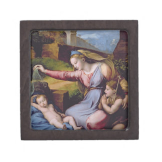 The Madonna of the Blue Diadem or The Madonna of t Gift Box