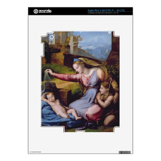 The Madonna of the Blue Diadem or The Madonna of t iPad 3 Decal
