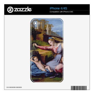 The Madonna of the Blue Diadem or The Madonna of t Skins For The iPhone 4S