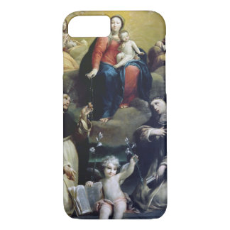 The Madonna of the Rosary with SS Dominic, Catheri iPhone 7 Case