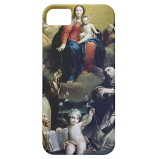 The Madonna of the Rosary with SS Dominic, Catheri iPhone SE/5/5s Case