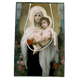 The Madonna of the Roses Medium Gift Bag