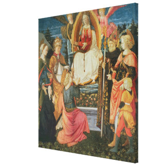 The Madonna of the Sacred Girdle, 1456 (tempera on Stretched Canvas Prints