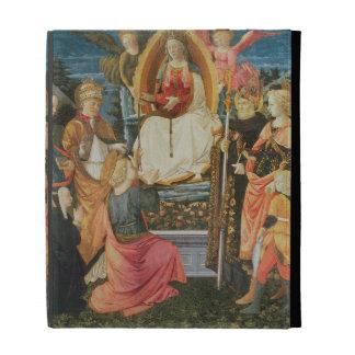 The Madonna of the Sacred Girdle, 1456 (tempera on iPad Folio Case