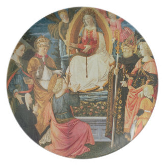 The Madonna of the Sacred Girdle, 1456 (tempera on Melamine Plate