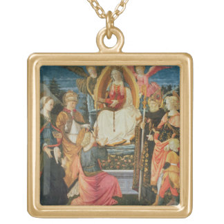 The Madonna of the Sacred Girdle, 1456 (tempera on Custom Necklace