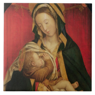 The Madonna Suckling her Child, 1520-30 (oil on pa Ceramic Tile