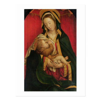 The Madonna Suckling her Child, 1520-30 (oil on pa Postcard