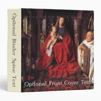 The Madonna with Canon van der Paele, Jan van Eyck Binder