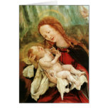 The Madonna With Child Greeting Cards