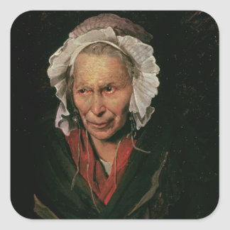 The Madwoman or The Obsession of Envy, 1819-22 Square Sticker