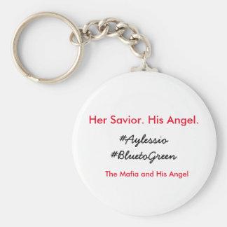 The Mafia and His Angel keychain