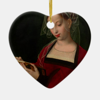 The Magdalen reading by Ambrosius Benson Ceramic Ornament