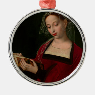 The Magdalen reading by Ambrosius Benson Metal Ornament