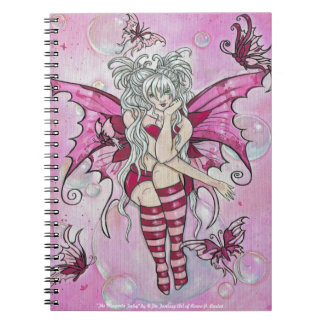 """The Magenta Fairy"" notebook"