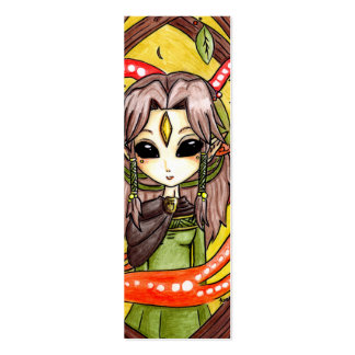 The Mages daughter Double-Sided Mini Business Cards (Pack Of 20)