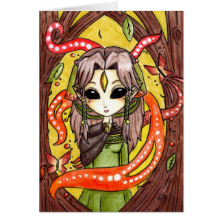 The Mages daughter Stationery Note Card