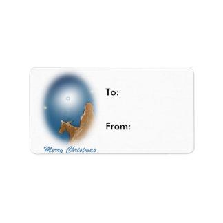 The Magi Christmas Gift Label Address Label