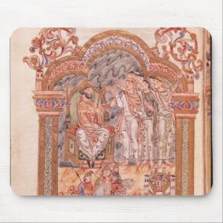 The Magi Visiting King Herod Mouse Pad