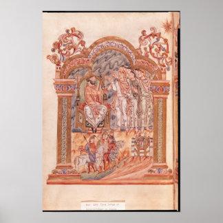 The Magi Visiting King Herod Poster