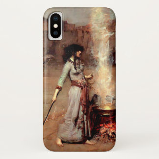The Magic Circle by Waterhouse iPhone X Case