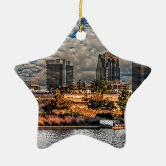 The Magic City Ceramic Ornament