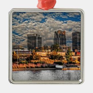 The Magic City Metal Ornament