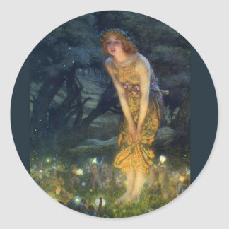 The Magic Fairy Circle Classic Round Sticker