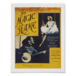 The Magic Flame Vintage Music Art Poster