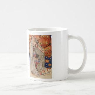 The Magic Halloween Cross Stitch Coffee Mug