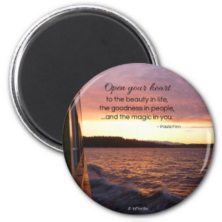 The Magic in You...Round Magnet