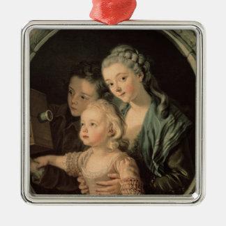 The Magic Lantern, 1764 Metal Ornament
