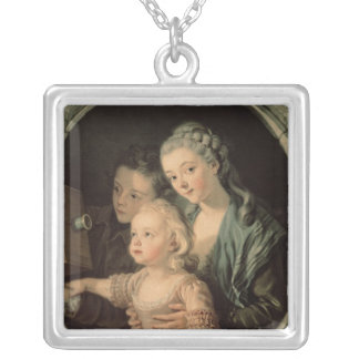 The Magic Lantern, 1764 Silver Plated Necklace