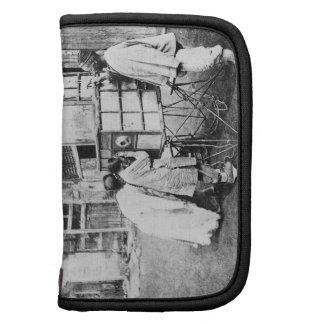 The magic lantern, c.1870 (b/w photo) folio planner