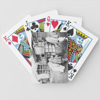 The magic lantern, c.1870 (b/w photo) card decks