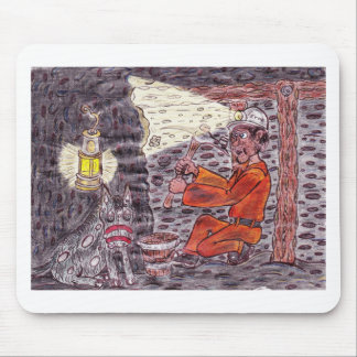The Magic miner Mouse Pad