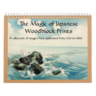 The Magic of Japanese Woodblock prints Calendar