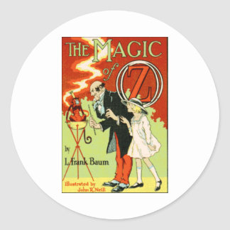 The Magic Of Oz Classic Round Sticker
