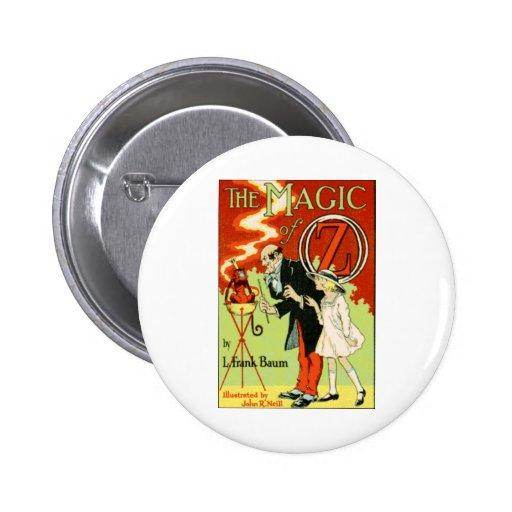 The Magic Of Oz Pinback Button