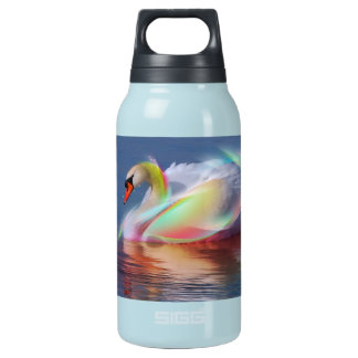 - the magic of the white swan. insulated water bottle