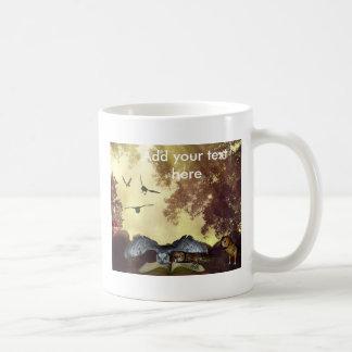 The magic owl Book mug